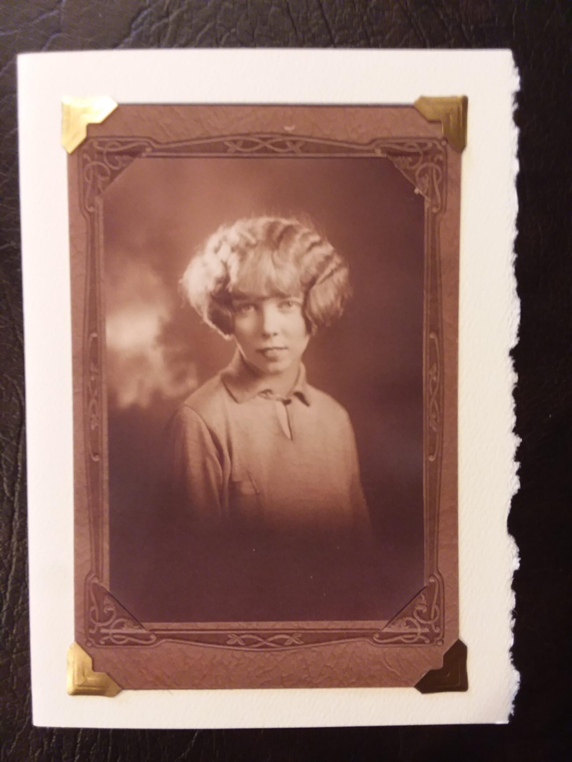 """Seattle Portrait"" Photoprint 7"" x 5"" $5.00"