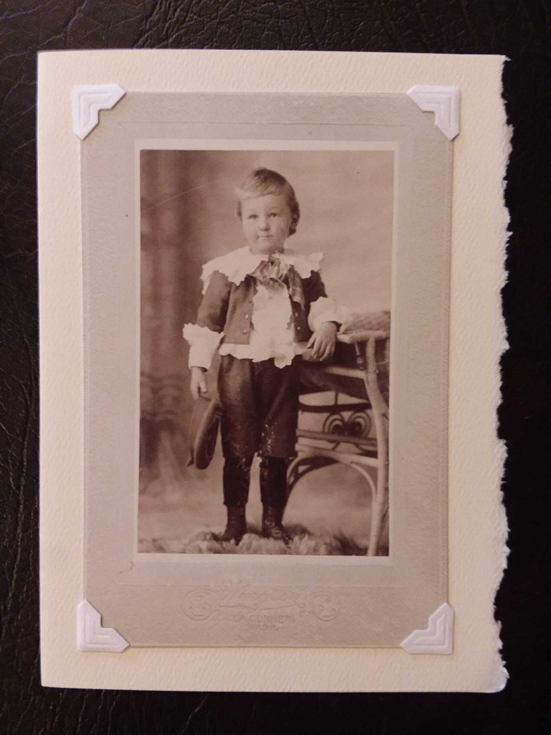 """""""Boy from La Connor"""" Photoprint"""