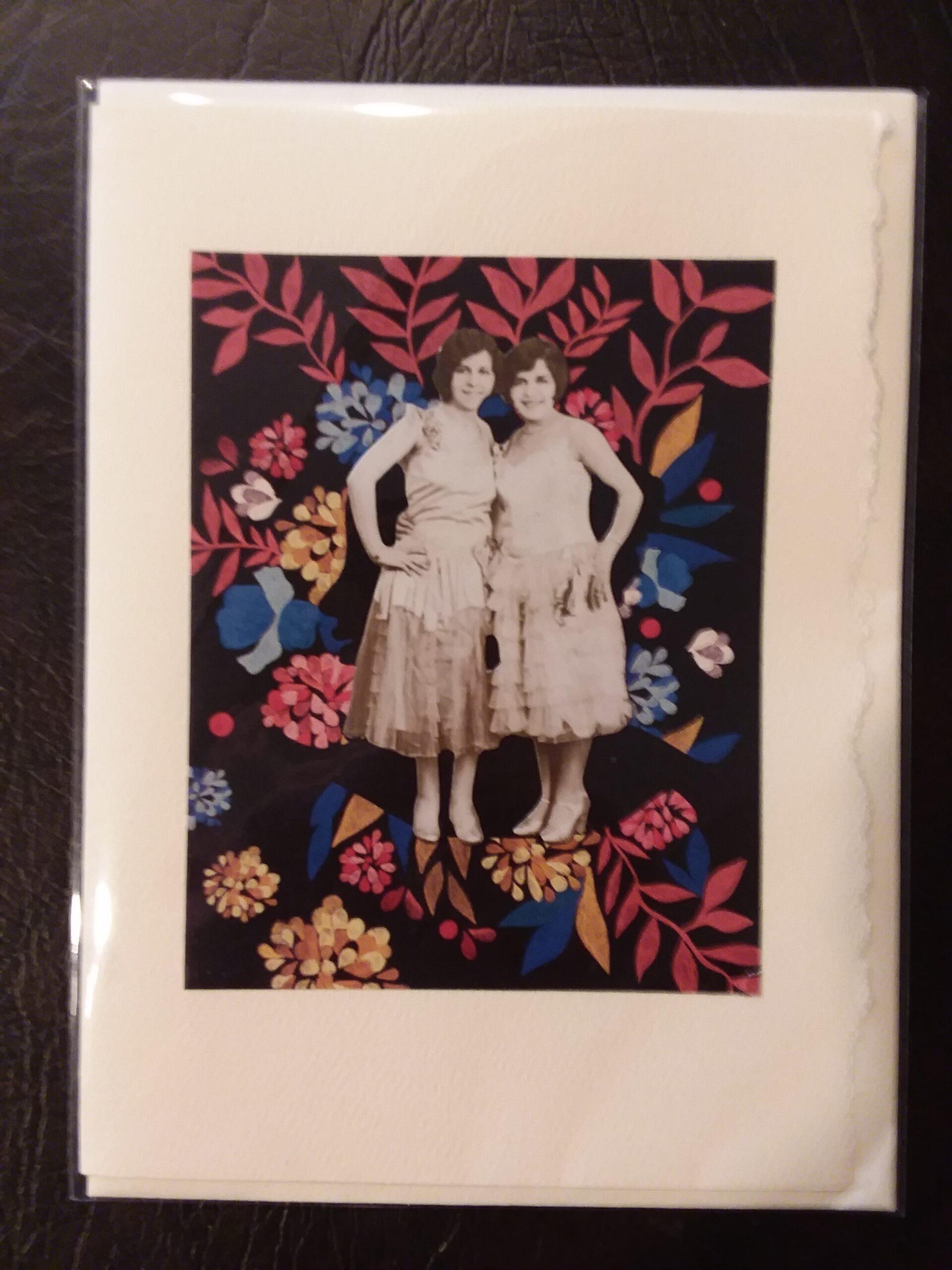 """""""Flower Girls"""" Collage 7"""" x 5"""" $7.50"""